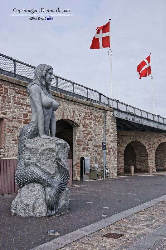 2017 Europe Copenhagen The Little Mermaid 02