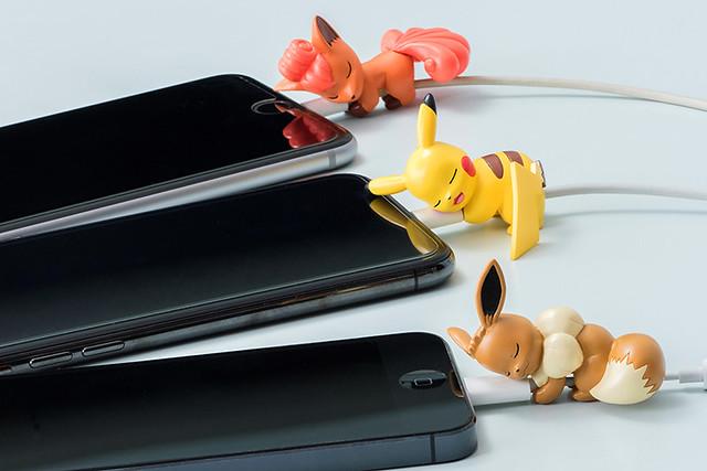 《精靈寶可夢》睡香香☆ON THE CABLE 充電線保護套(ポケットモンスター すやすや☆オン・ザ・ケーブル)