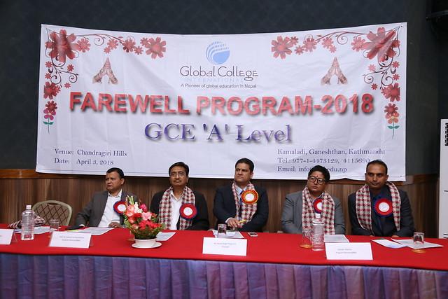 Farewell Program 2018