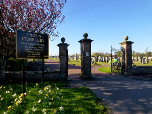 Troon cemetery, Dundonald Rd (7)