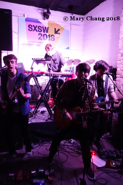The RPMs Wednesday at SXSW 2018