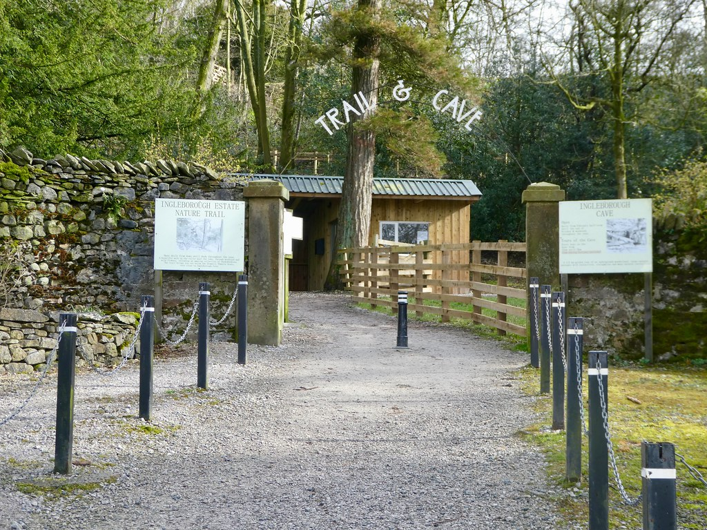 Ingleborough Estate Nature Trail and Cave Entrance.