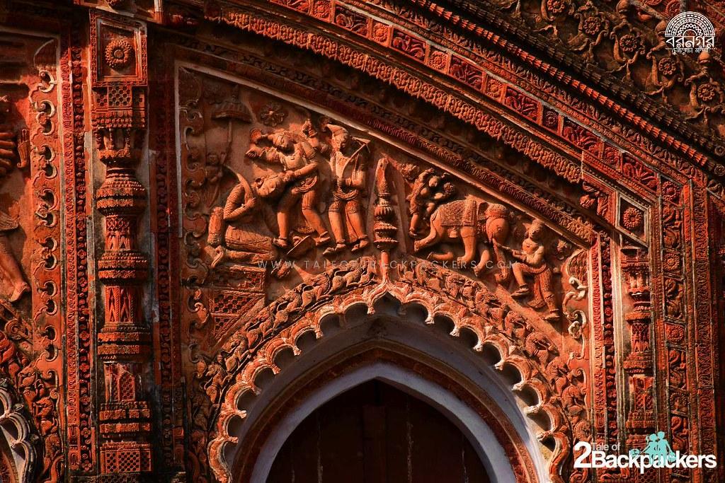 Charbangla Temple, Baranagar, Murshidabad