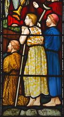 Sermon on the Mount - detail (Harry Ellis Wooldridge for Powell & Sons, 1875)