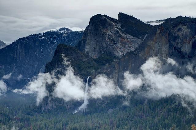 Cathedral Rocks of Yosemite