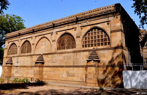Sidi Saiyyid Mosque - rear view