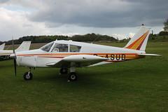 G-ASUD Piper PA-28-180 (28-1654) Popham 030510