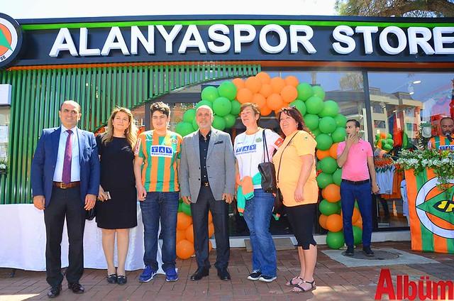 Alanyaspor Store açılış-7