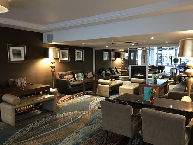 Thistle hotel  lounge