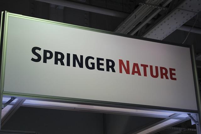 Springer Nature - London Book Fair 2018
