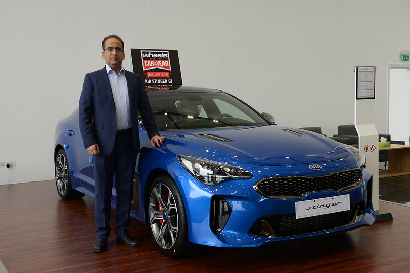 Mohammed Khader Al Majid Motors KIA UAE carbonoctane