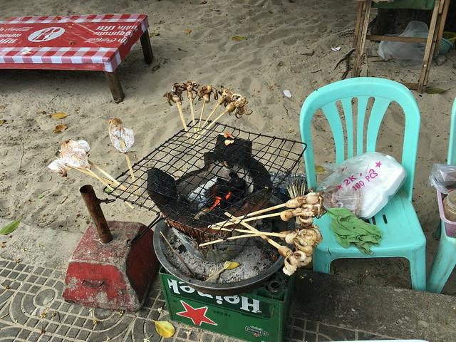 海っぽい串焼き屋さん