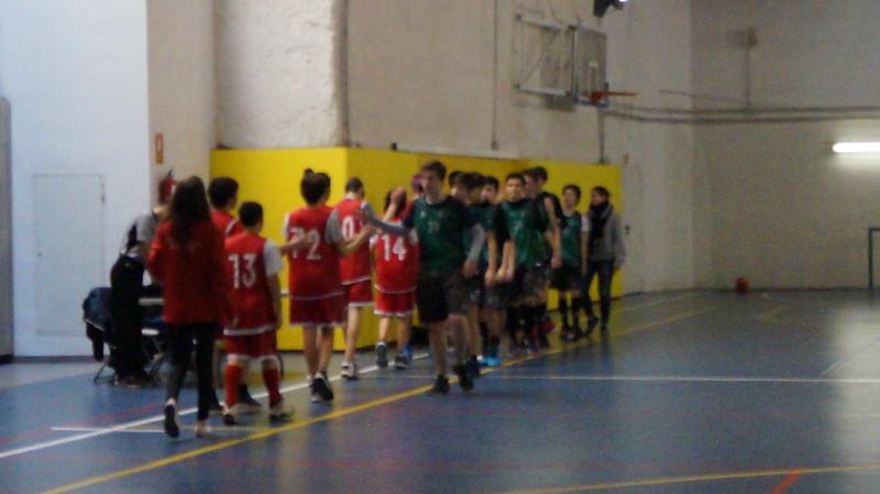 Cadete Ferrer i Guàrdia vs Loreto 17/18