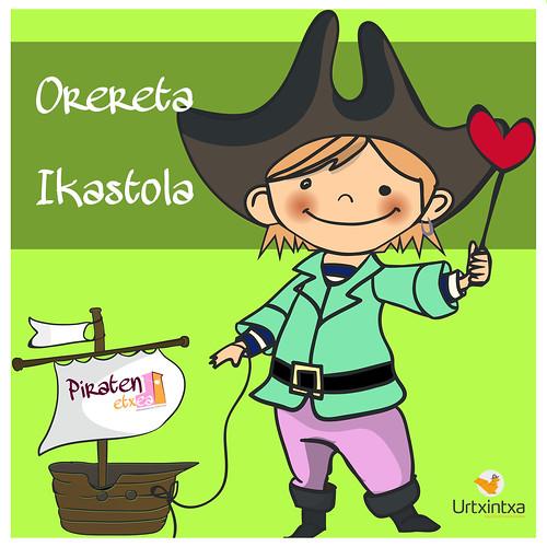 Pirata Egonaldia- Orereta Ikastola 2018-05-24/2018-05-25