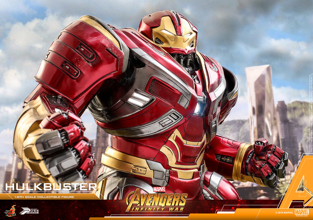 Hot Toys – PPS005 – 《復仇者聯盟:無限之戰》1/6 比例 浩克毀滅者 馬克2  Avengers: Infinity War Power Pose Hulkbuster Mark II