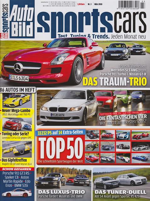 Auto Bild Sportscars 3/2010