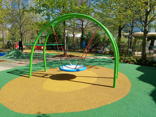 Children's Garden Playground Equipment Reveal