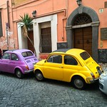 x2 Classic Fiat 500 - https://www.flickr.com/people/28370466@N05/