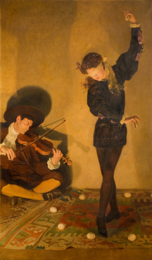 John Collier egg dance