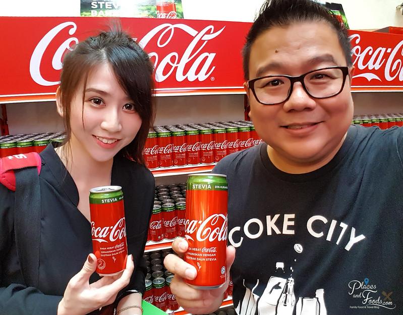 coca cola stevia malaysia