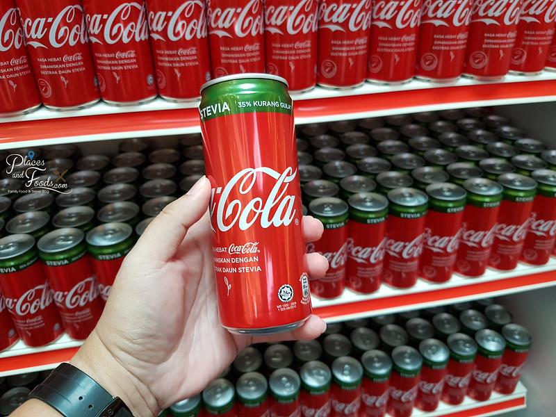 coca cola stevia malaysia can