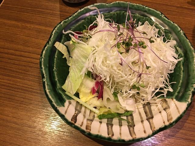新鮮生菜@台北信義勝政豬排