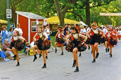 Pompom Girls, Mayfest Parade, 1996