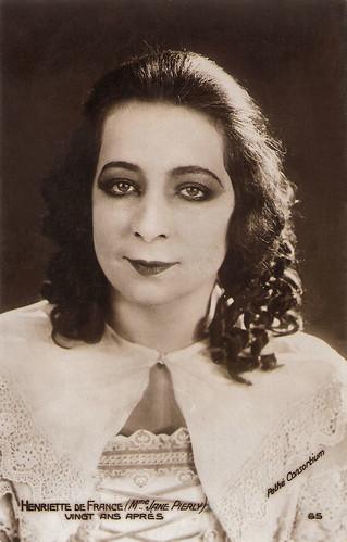 Jane Piérly in Vingt ans après (1922)