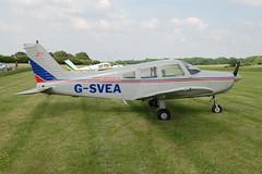 G-SVEA Piper PA-28-161 (28-7916082) Popham 080608