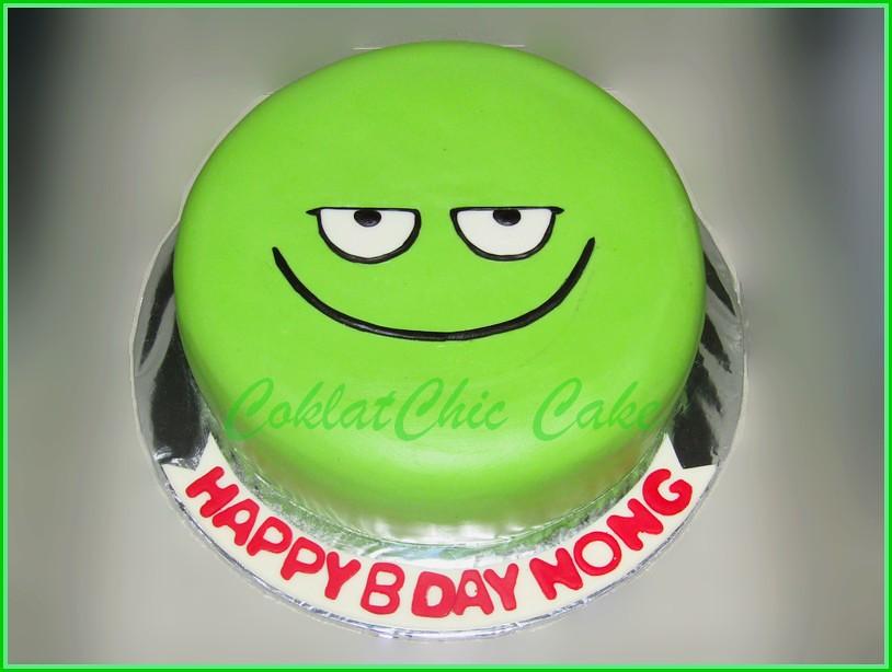 Cake  Parampa Emoji NONG  20 cm