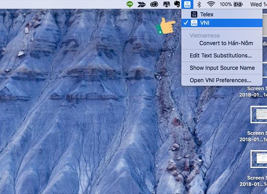 gõ tiếng việt trên macbook air