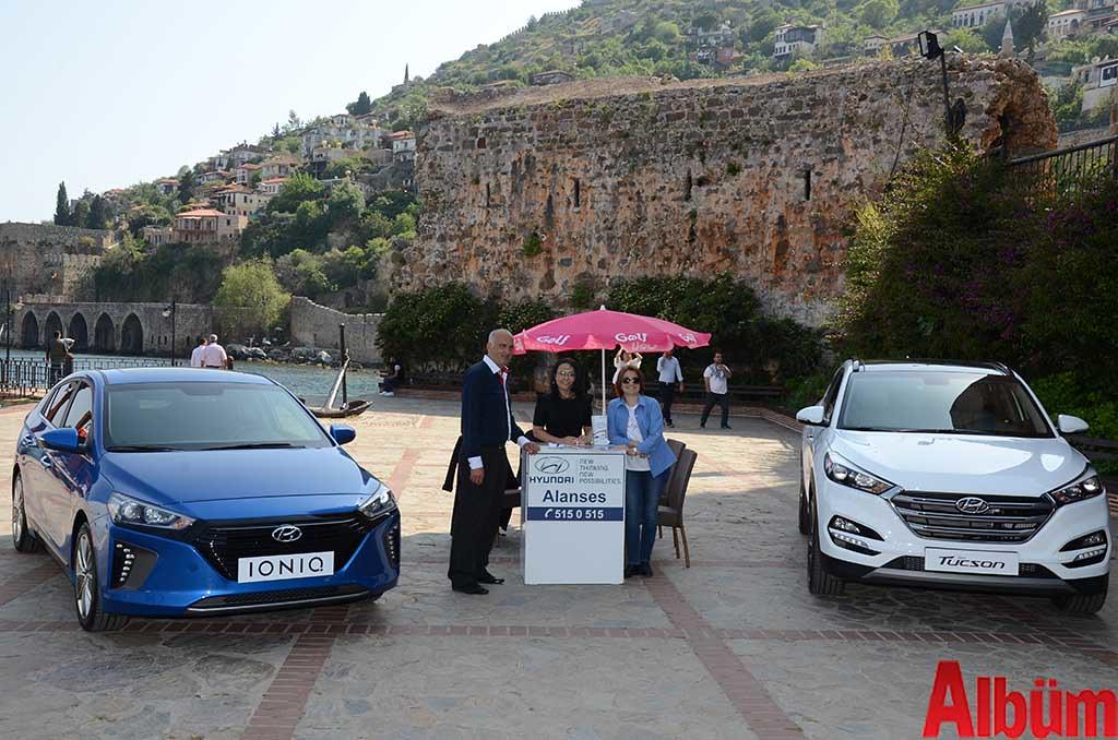Hyundai yeni nesil araçlarını Kızıl Kule'de tanıttı