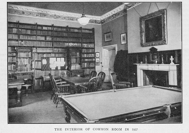 The Masters' Common Room, 1937.