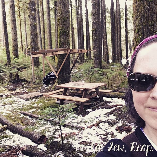 It was another busy day in Silverton. Check out the blog to see today's progress. https://ift.tt/2qKVxol #buildsewreap #silverton #build #treehouse #maker #makersgonnamake