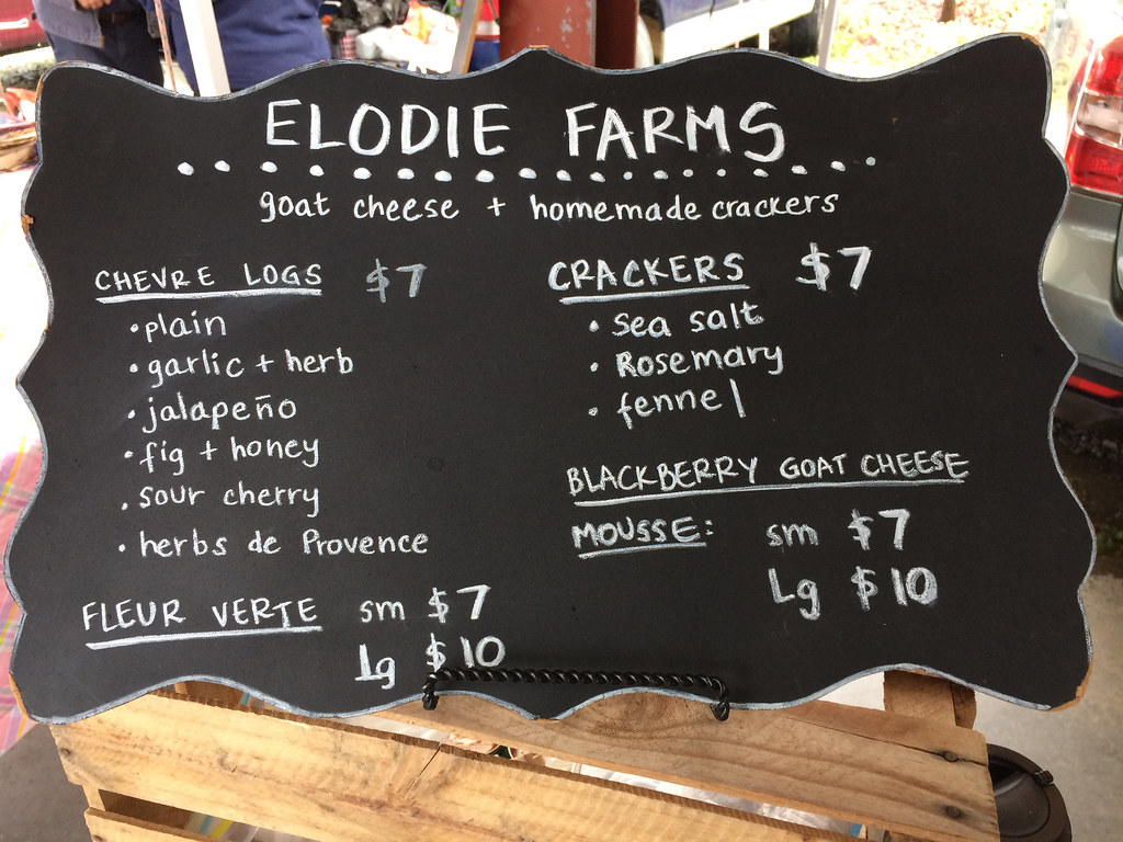 Elodie Farms Chevre Logs 1