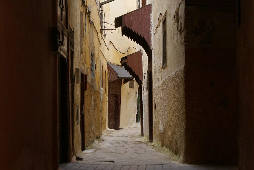 Toujours dans la médina de Meknes.