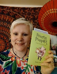 Thu, 05/03/2018 - 08:28 -  It's Michelle from Bournemouth with a copy of the original Princess Pumpalot book. Thanks for sending in the pic. #Fart2018