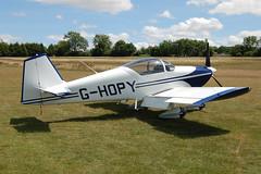 G-HOPY Vans RV-6A [PFA 181-12742] Popham 110710
