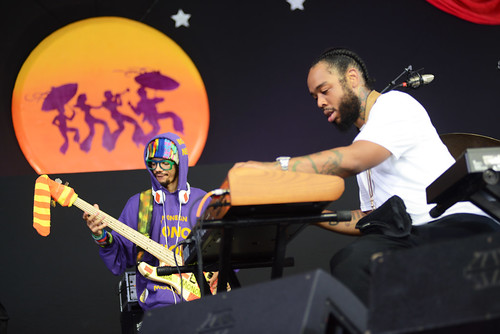 Terrace Martin on Day 4 of Jazz Fest - May 3, 2018. Photo by Leon Morris.