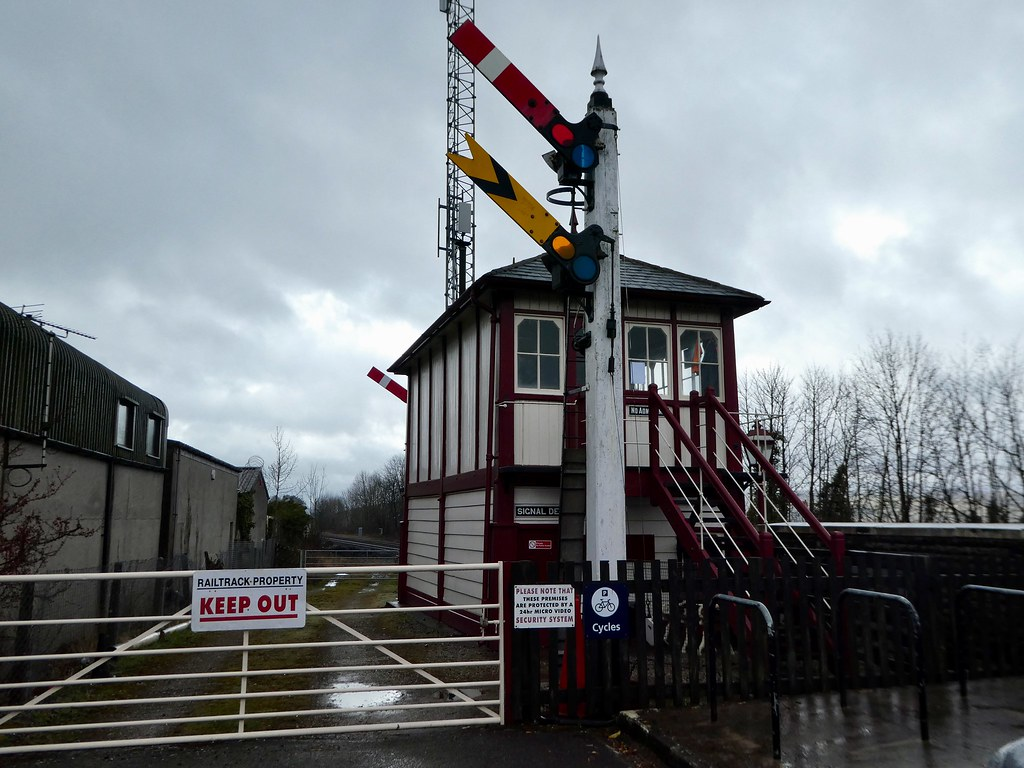 Settle Station Signal Box