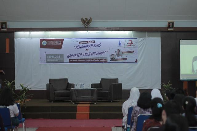 Seminar Ilmiah - Pendidikan Seks & Karakter Anak Milenial