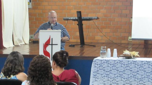 Celebração de Páscoa com familiares e funcionários do Colégio Metodista de Ribeirão Preto - 2018