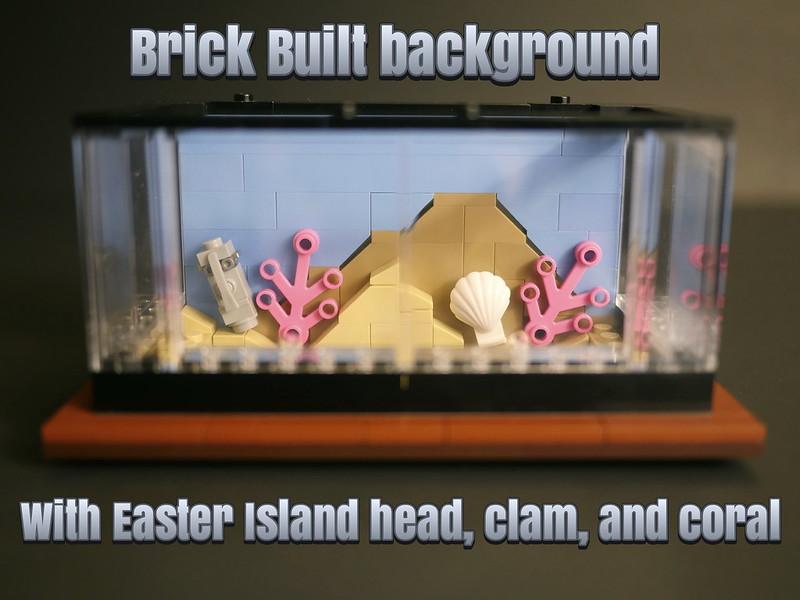 Lego Clockwork Aquarium - Brick Background