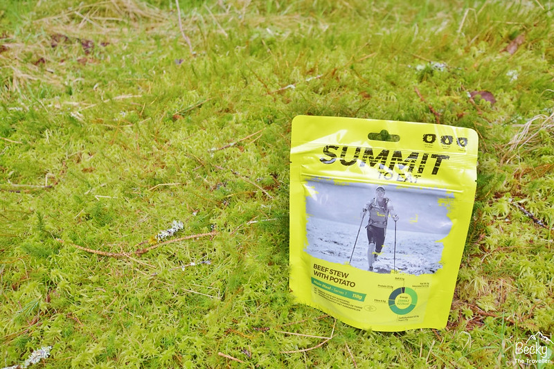 Summit to Eat freeze-dried meal - Beef stew with potato