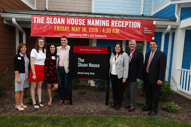 Sloan House Naming Reception