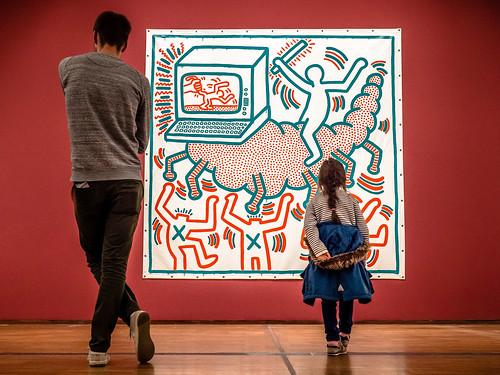 Keith Haring. The Alphabet II