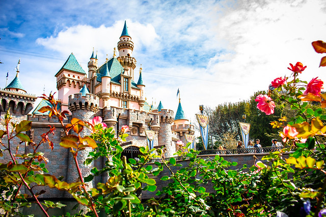 Sleeping Beauty Castle on a Cloudy Day 4_7_2018 *EXPLORE*