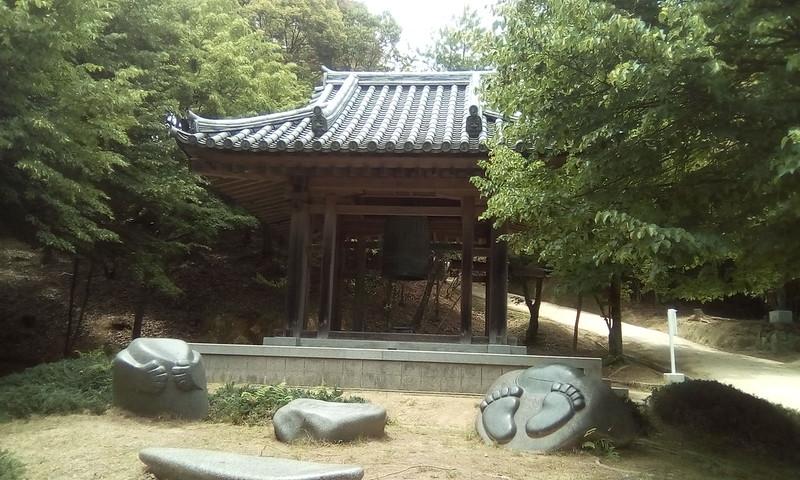 Big bell of Marcy, Mount Shosha, Himeji, Japan
