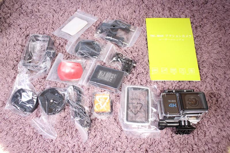 TEC.BEAN T3 アクションカメラ 開封レビュー (7)