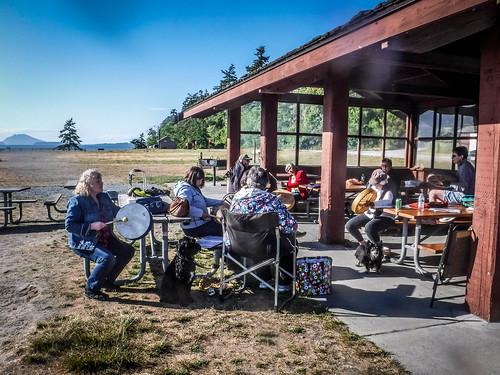 Drum Circle at Bayview State Park-004